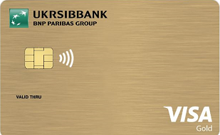 VISA Gold Neutral Contactless